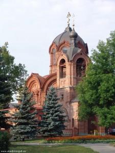 Храм архангела Михаила увенчает хрустальный крест